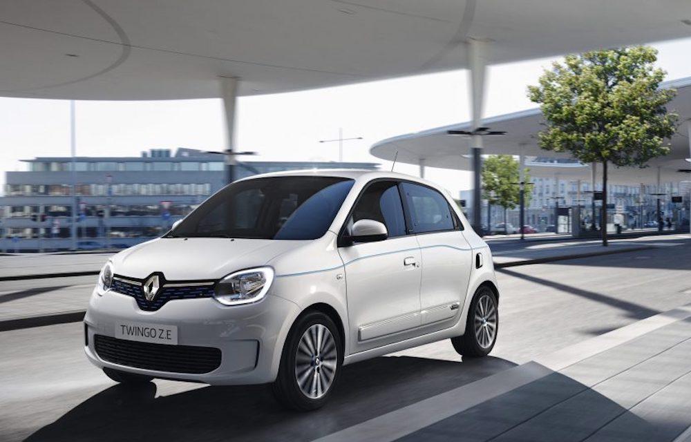 Renault Nieuwe Twingo ZE Life